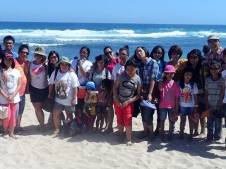 Piknik di Pantai Jogja